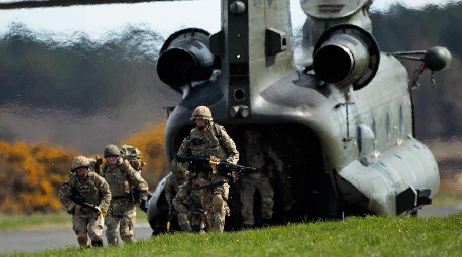 Shrinking army: Recruitment crisis leaves UK military with Napoleonic-era manpower
