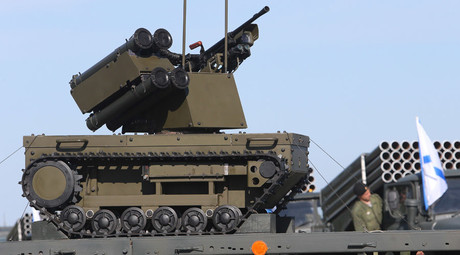 Russia develops 7-ton universal armored robotic platform