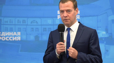 PM Medvedev to lead United Russia list in 2016 parliamentary polls - report