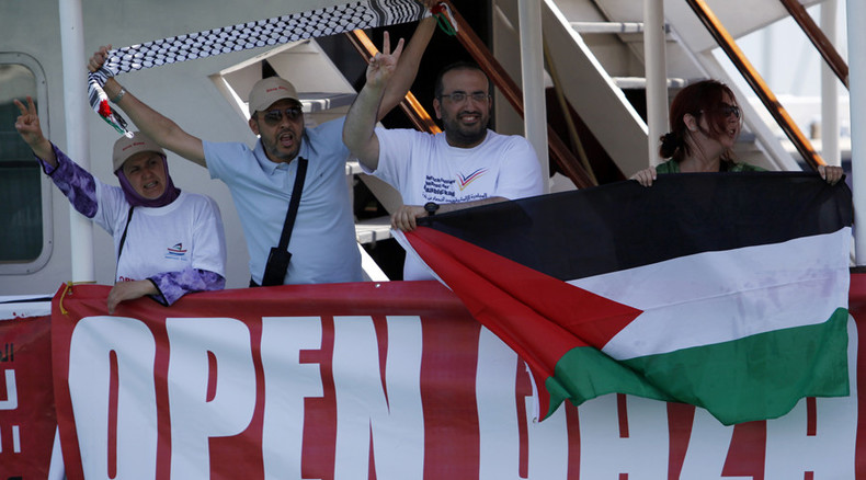 Freedom Flotilla: Eyewitness tells how Israel seized ship illegally, tasering and holding activists