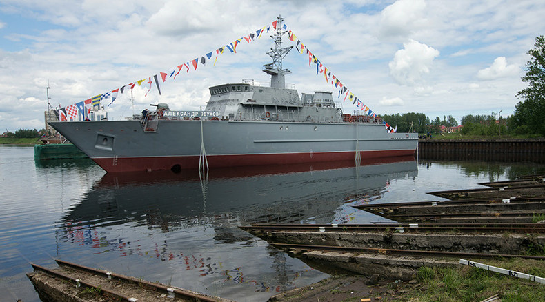 Latvian military spots 'Russian navy ship' near its borders