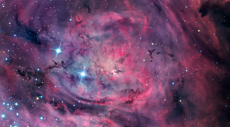 Telescope captures spectacular Lagoon Nebula, a vast cauldron of interstellar gas & dust (PHOTOS)