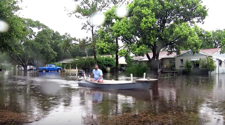 'We woke up to disaster': Torrential rain swamps Tampa, worst flooding in 65 years (VIDEO)
