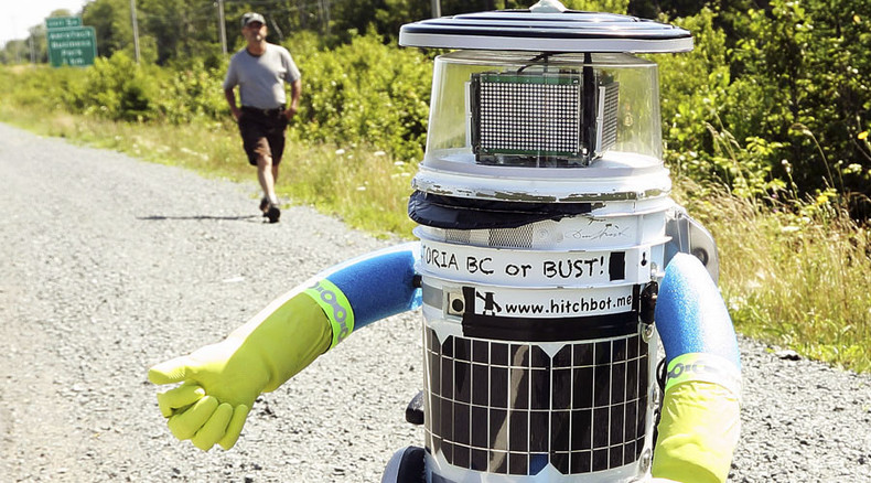 HitchBot mystery: Alleged CCTV footage of robot's destruction in Philly sparks controversy