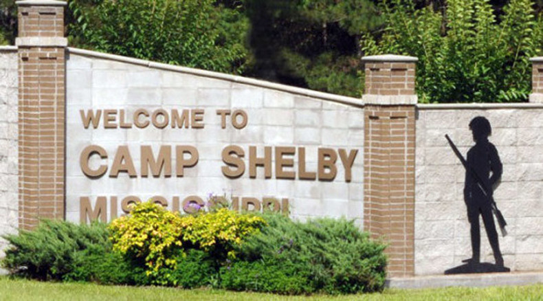 Police searching for 2 men who shot at Camp Shelby soldiers