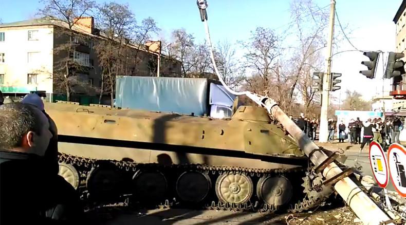 Ukrainian officer who killed 8yo in drunken road accident receives state award
