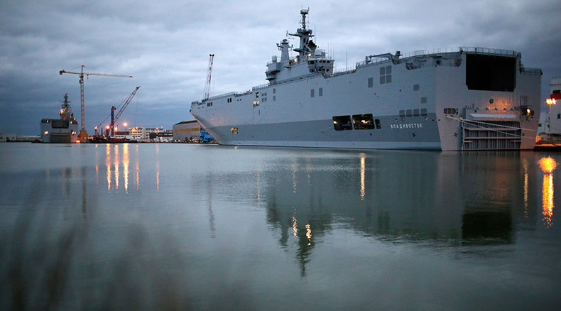 Putin, Hollande officially cancel Mistral contract, Paris to pay less than €1.2bn