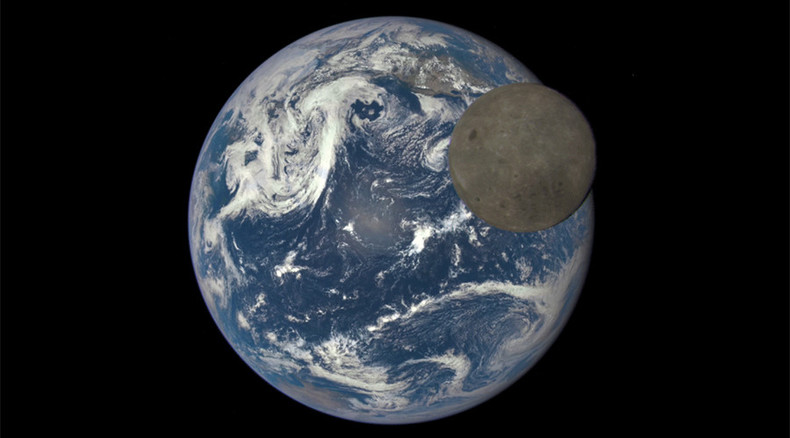 EPIC video of sunlit 'dark side' of moon crossing over Earth revealed by NASA