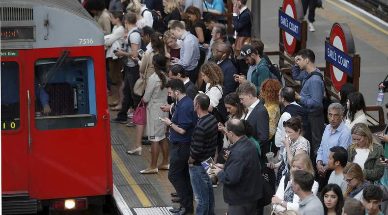 Londoners battle 'absolutely solid' #TubeStrike, Uber cashes in on chaos