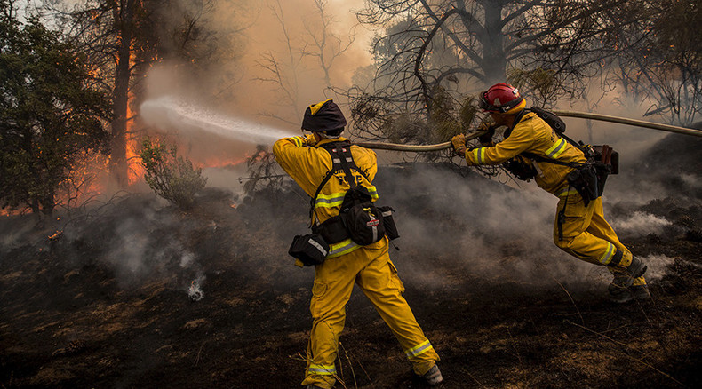 50% of Forest Service budget going up in flames fighting wildfires – report