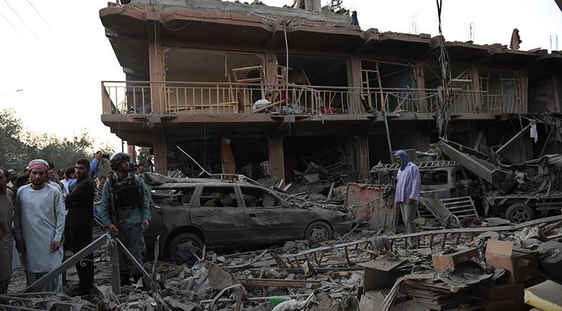 At least 8 killed, 400 injured after massive explosion rocks central Kabul