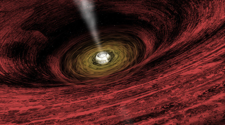 NASA explains how black hole 'fountain' regulates galaxy star birth