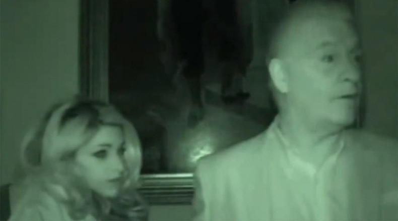 Ghost of haunted English castle captured on film (VIDEO)