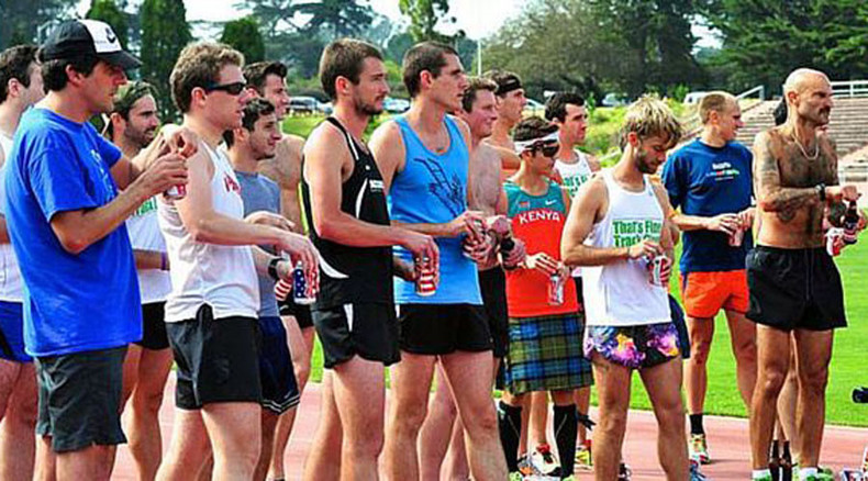 Running under the influence: Australian sets new world record in Beer Mile