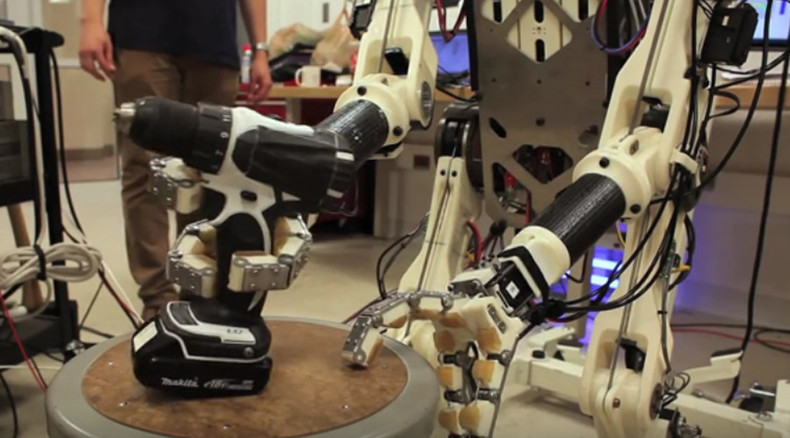 MIT 'mech suit' helps robots move smoothly following human lead (VIDEO)