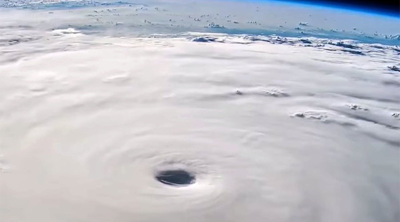 Devastating Typhoon Soudelor as seen from space (TIMELAPSE VIDEO)