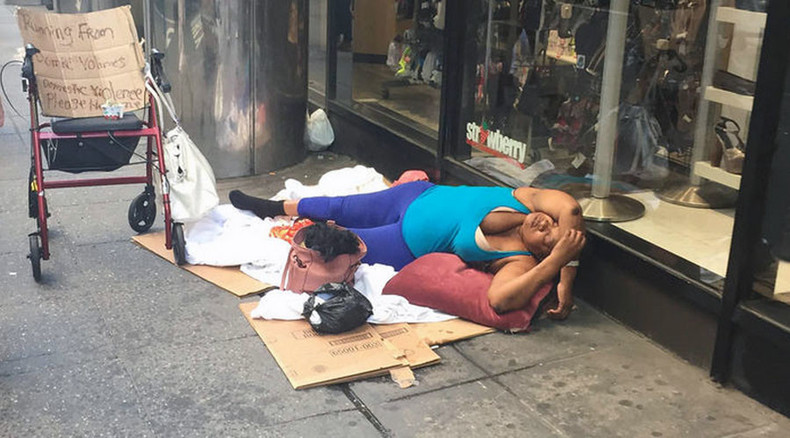 NYPD union introduces vagrant-shaming photos to address quality-of-life issues
