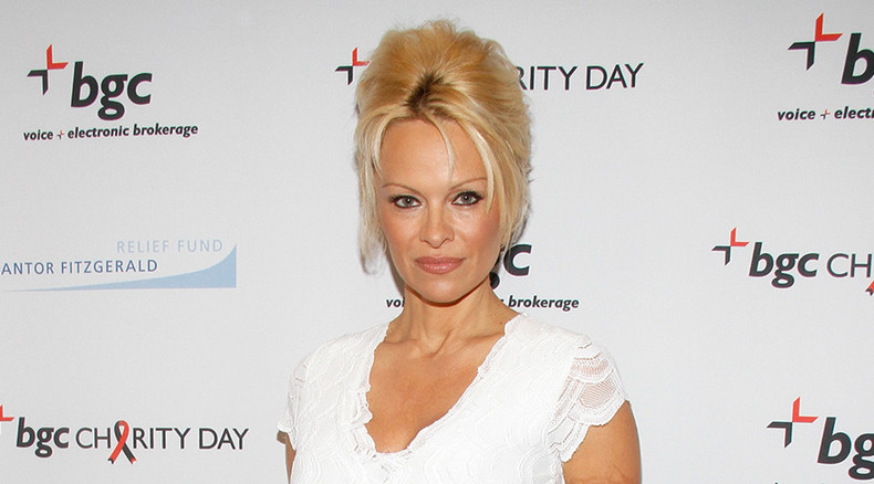 Pamela Anderson to discuss fish & bees with Russian officials
