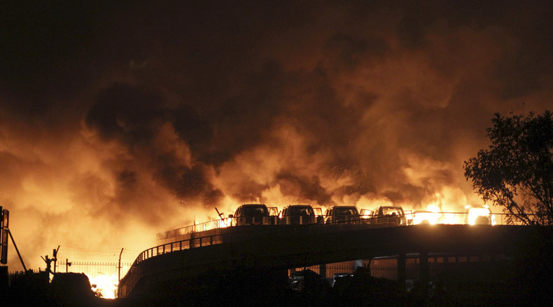 50 dead, over 700 injured, after blast rocks busy Chinese port (VIDEOS, PHOTOS)