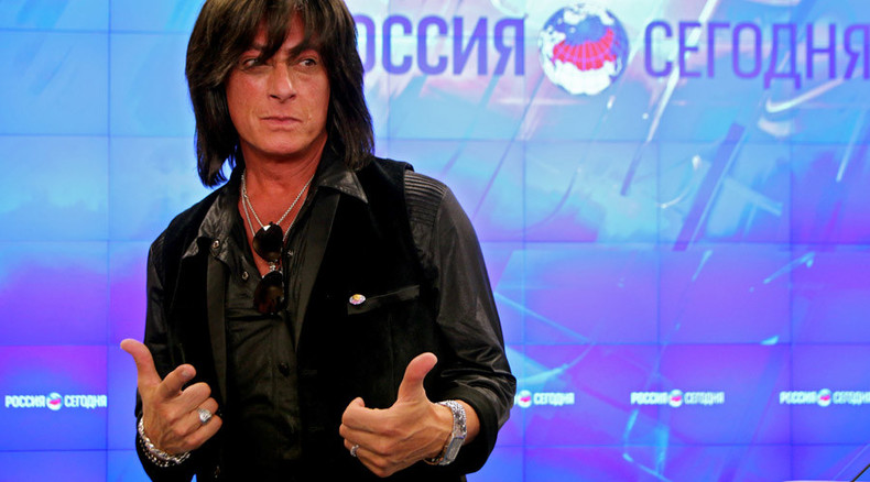 'Truth lives in Russia' says Deep Purple's ex-vocalist Turner on visit to Crimea