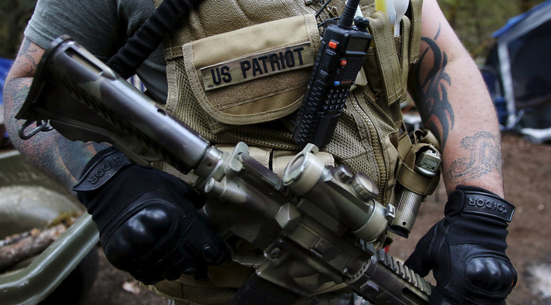 Armed militias celebrate victory in Montana mine stand-off with federal govt