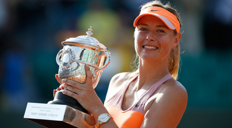 Forbes: Sharapova beats Serena to become highest-paid female in sports