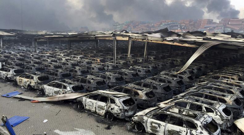Toxic fumes detected in 500-meter radius from Tianjin blast area