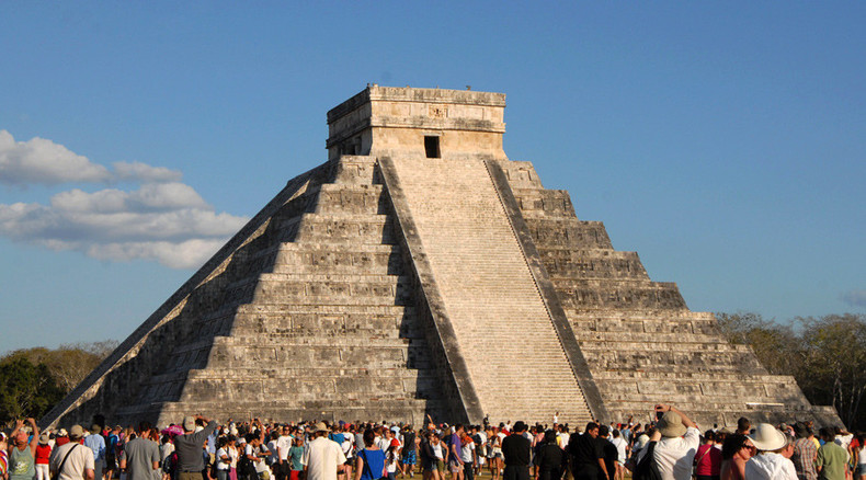 Ancient Mayan temple at Chichen Itza, Mexico 'in danger of collapsing' due to underground river