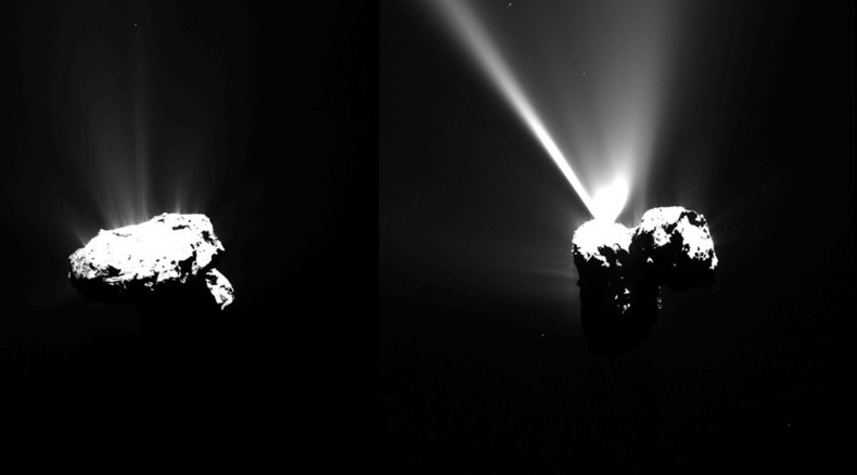 Space milestone: Rosetta probe witnesses comet's closest approach to sun (PHOTOS)