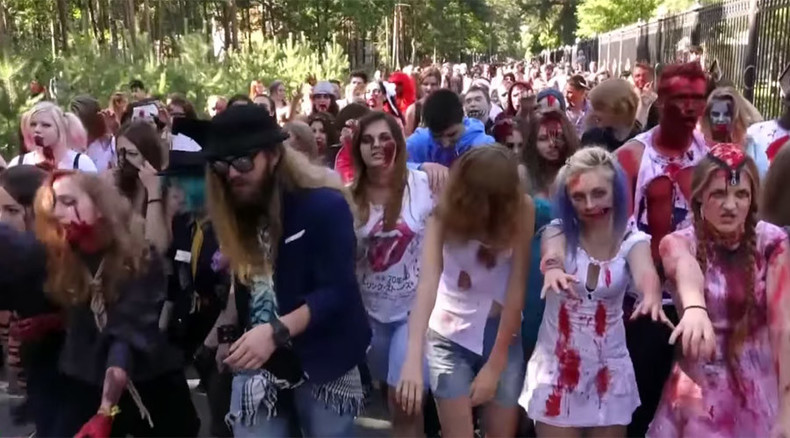Zombies 'invade' St Petersburg, Christian group outraged