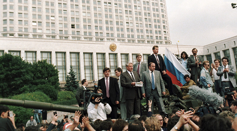 Russians see 1991 coup as national tragedy, but like subsequent developments