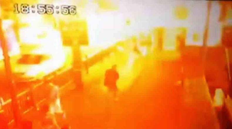 Moment of deadly bomb blast in Bangkok caught on camera (DISTURBING VIDEO)