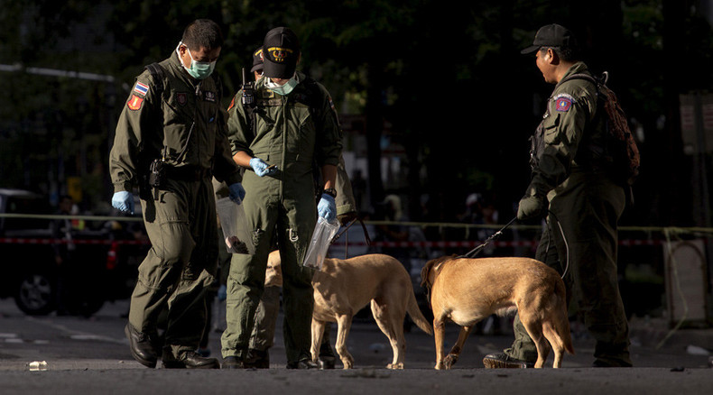 2nd Bangkok bombing day: Explosive device thrown in Thai capital's river