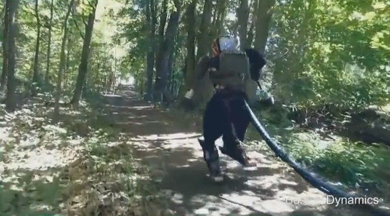'Terrifying' Terminator-like robot let loose in US woods (VIDEO)