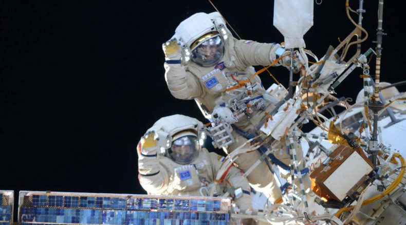 Record-holding Russian cosmonaut takes 'out of this world' space selfie