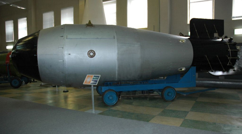 Tsar Bomba: Replica of world's most powerful nuke ever detonated to be displayed in Moscow