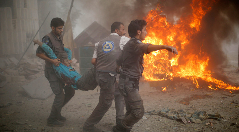 UN warns Syrian airstrike in Douma may amount to war crime, Damascus slams criticism