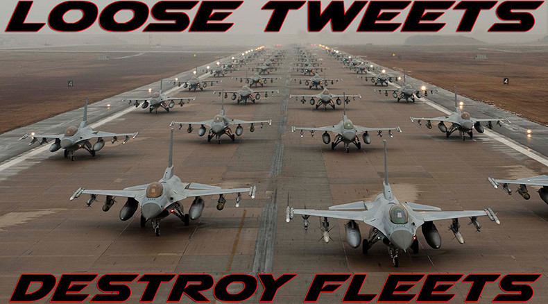 'Loose tweets destroy fleets': Air Force warns of social media dangers