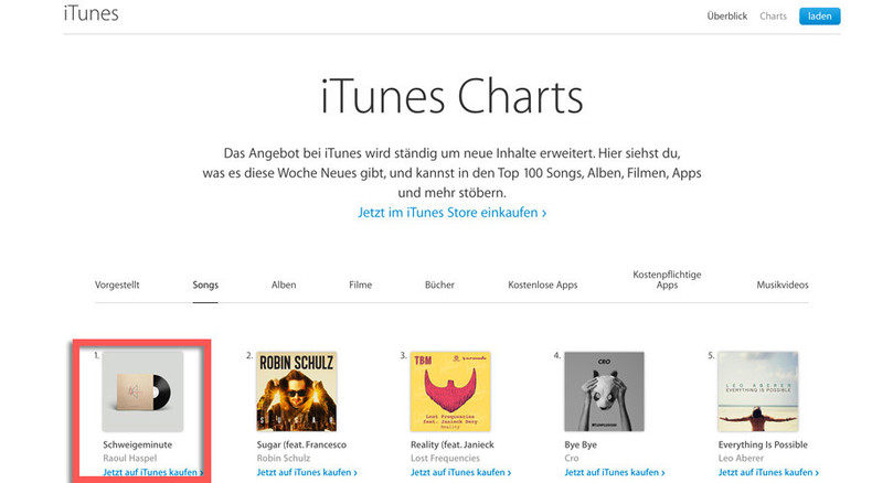 Minute of silence for refugees tops iTunes charts in Austria