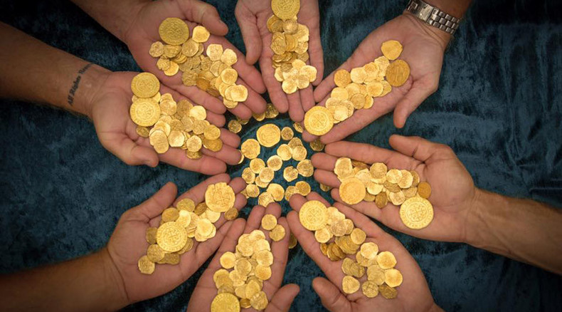 Florida divers find $4.5mn in gold coins from sunken 18th century Spanish fleet (PHOTOS)