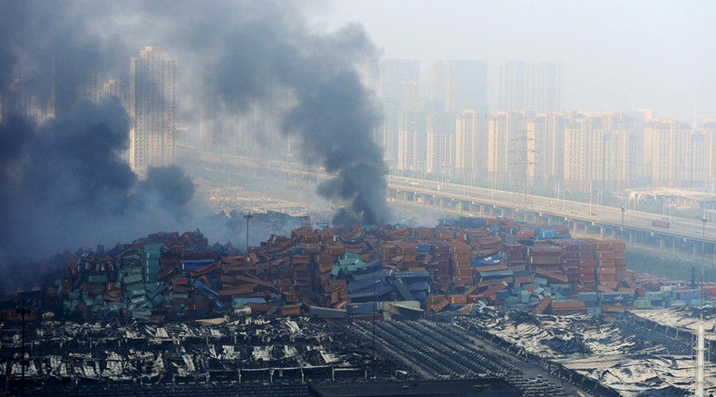 Cyanide levels '356 times higher than permitted' found at Tianjin blast site – Chinese official