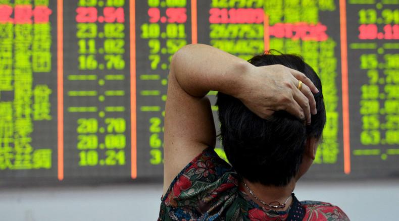 World markets bearish on grim China data