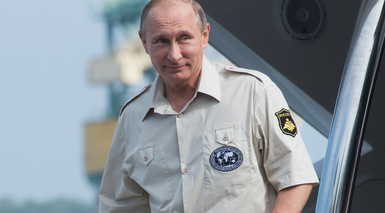 Putin goes to Crimea – but where's the Western outrage?