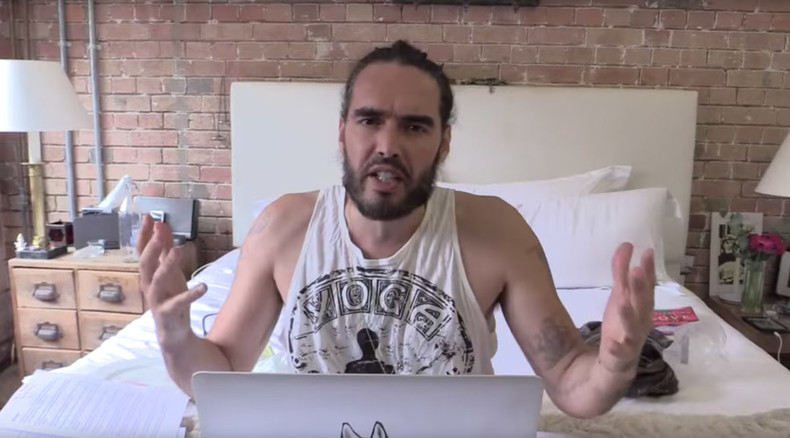 Russell Brand axes YouTube show, 'tired of being the story'