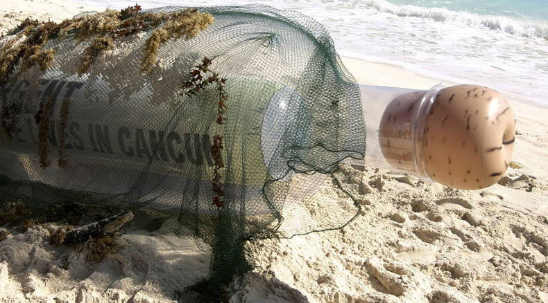 World's oldest message in bottle washes ashore