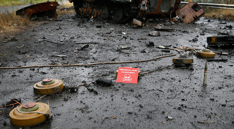 Kiev ordered deployment of 'illegal & inhumane' anti-personnel mines – ex-Ukrainian officer