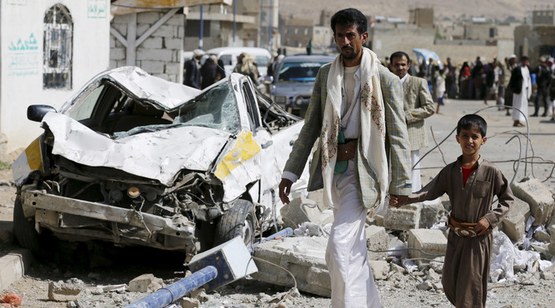 Yemeni president proposes 15-day ceasefire, dozens of civilians die in Saudi-led airstrike