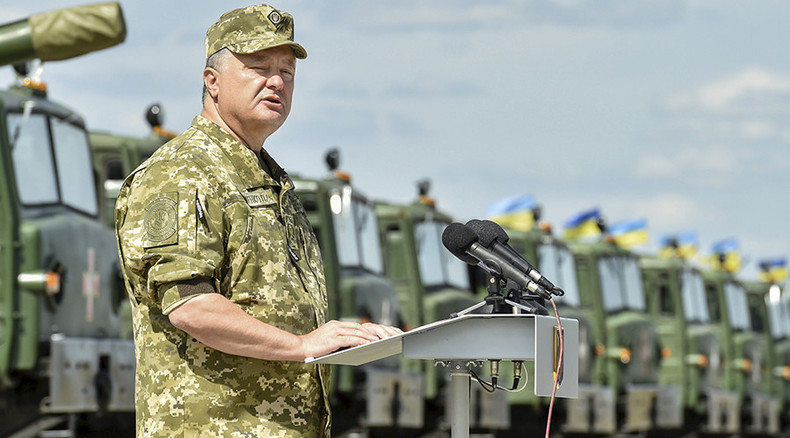 Poroshenko says Minsk agreement allowed Kiev military buildup