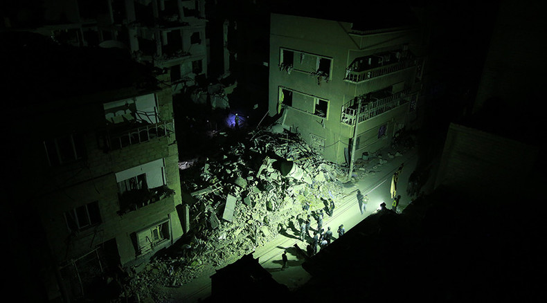 50 civilians reported killed in Douma after Syrian army rocket attack