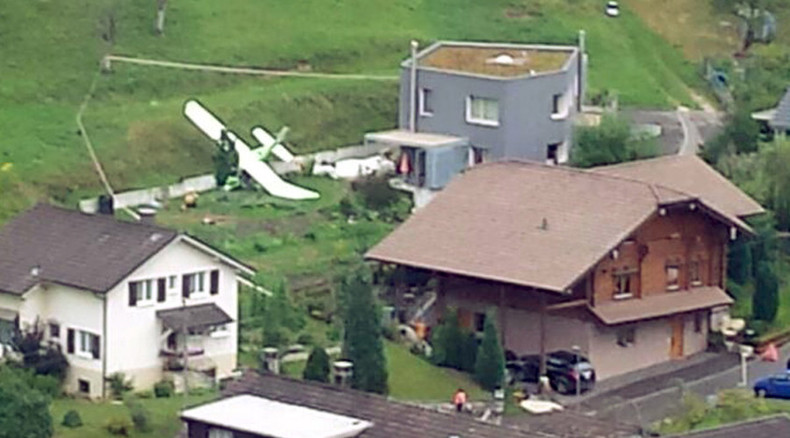 2 planes collide at Swiss airshow, at least 1 killed